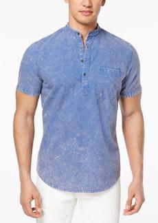 INC I.n.c. Men's Denim Popover Shirt, Created for Macy's