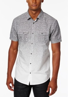 INC I.n.c. Men's Dip-Dyed Heathered Shirt, Created for Macy's