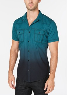 INC I.n.c. Men's Dip Dyed Shirt, Created for Macy's