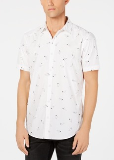 INC I.n.c. Men's Ditsy-Print Shirt, Created for Macy's