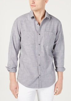 INC I.n.c. Men's Dual Pocket Chambray Shirt, Created for Macy's