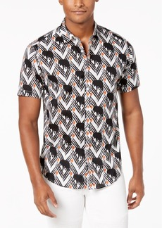 INC I.n.c. Men's Elephant Print Shirt, Created for Macy's