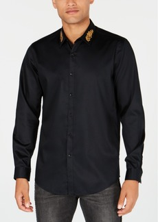 INC I.n.c. Men's Embroidered Shirt, Created for Macy's
