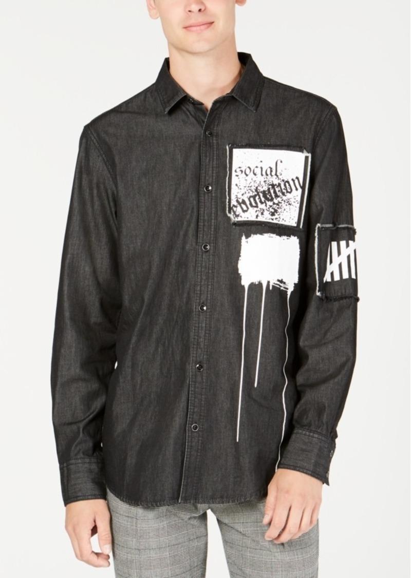 INC I.n.c. Men's Evolution Shirt, Created for Macy's