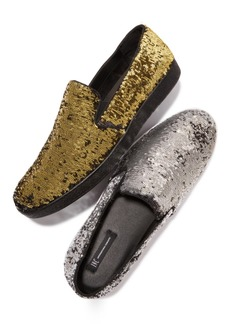 INC I.n.c. Men's Flash Sequin Slip-Ons, Created for Macy's Men's Shoes
