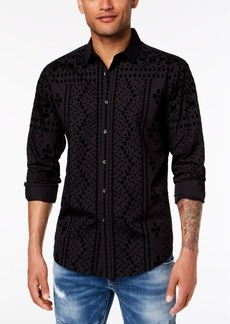 INC I.n.c. Men's Flocked Shirt, Created for Macy's