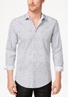 INC I.n.c. Men's Floral Disty-Print Shirt, Created for Macy's