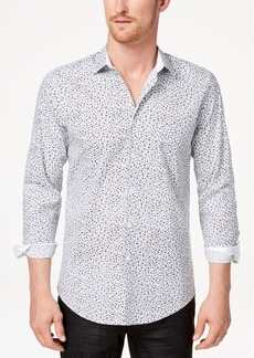 INC I.n.c. Men's Floral Micro Print Shirt, Created for Macy's