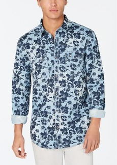 INC I.n.c. Men's Floral Graphic Shirt, Created for Macy's