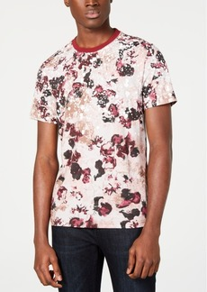 Inc Men's Floral Graphic T-Shirt, Created for Macy's