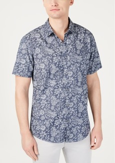INC I.n.c. Men's Floral Jacquard Shirt, Created for Macy's