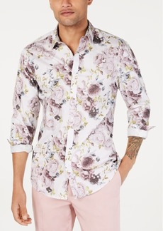 INC I.n.c. Men's Floral Print Shirt, Created for Macy's