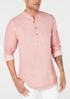 INC I.n.c. Men's Four-Button Henley, Created for Macy's