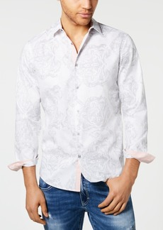 INC I.n.c. Men's Frederick Paisley Shirt, Created for Macy's