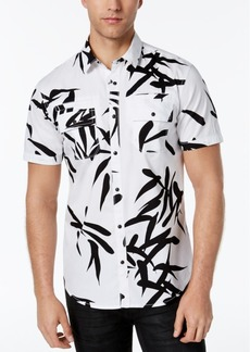 INC I.n.c. Men's Geometric Print Shirt, Created for Macy's