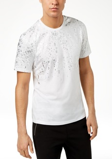 INC I.n.c. Men's Gold-Foil T-Shirt, Created for Macy's