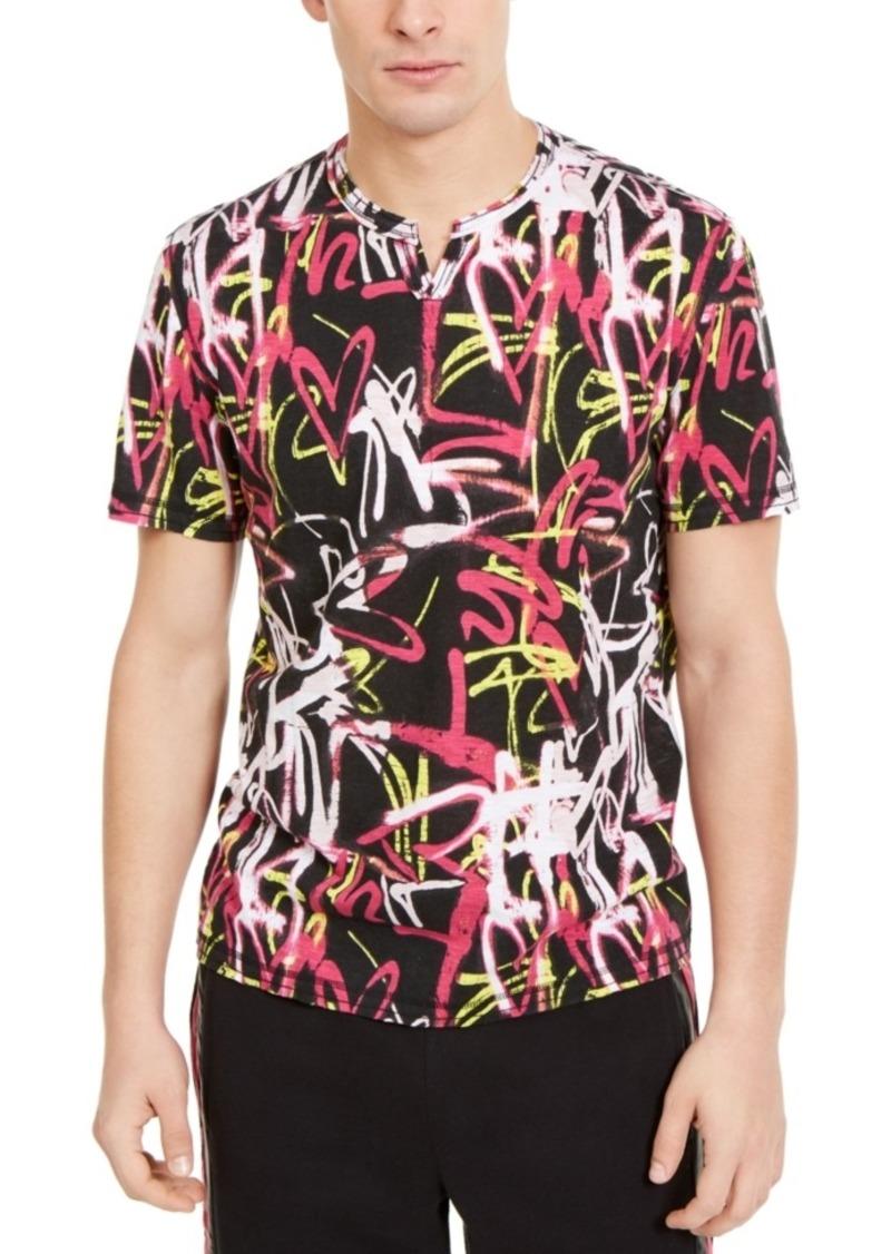 Inc Men's Graffiti T-Shirt, Created For Macy's