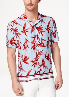 INC I.n.c. Men's Hani Floral Camp Collar Shirt, Created for Macy's