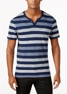 INC I.n.c. Men's Heathered Striped T-Shirt, Created for Macy's