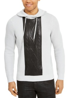 Inc Men's High Rise Hooded Sweater, Created For Macy's