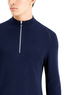 Inc International Concepts Men's Howie Quarter-Zip Sweater, Created for Macy's