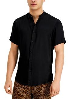 Inc Men's Kody Band-Collar Shirt, Created for Macy's