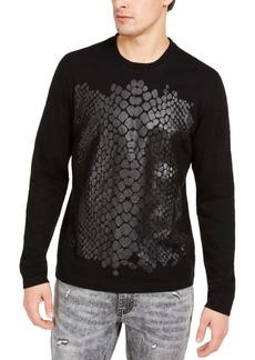 Inc Men's Long-Sleeve Crocodile T-Shirt, Created for Macy's