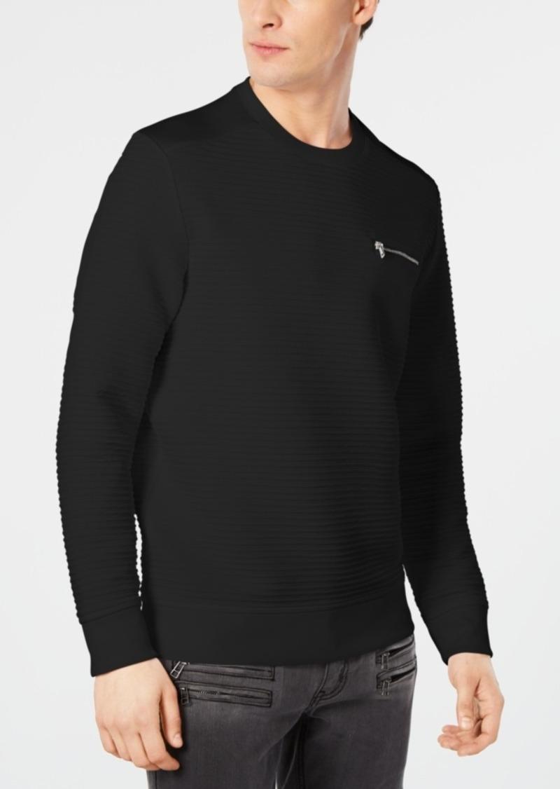 Inc Men's Long-Sleeve Zip-Pocket T-Shirt, Created for Macy's