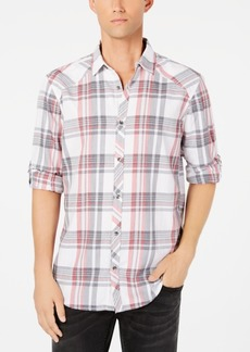 INC I.n.c. Men's Marc Plaid Shirt, Created for Macy's