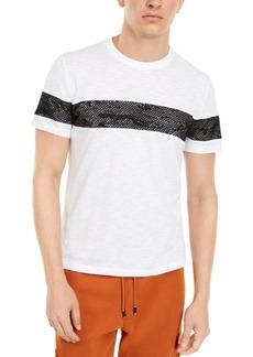 Inc Men's Mesh Camo Stripe T-Shirt, Created For Macy's
