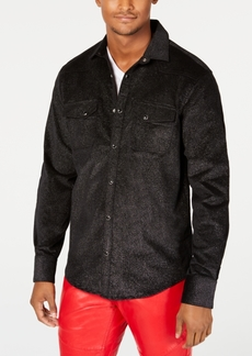 INC I.n.c. Men's Metallic Shirt, Created for Macy's