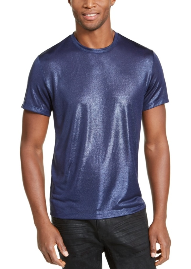 Inc Onyx Men's Metallic T-Shirt, Created for Macy's