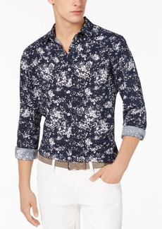 INC I.n.c. Men's Miguel Splatter-Print Shirt, Created for Macy's