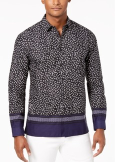 INC I.n.c. Men's Multi-Print Shirt, Created for Macy's