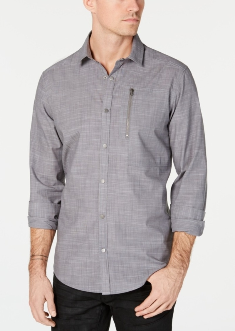 INC I.n.c. Men's Murdock Cross Hatch Shirt, Created for Macy's