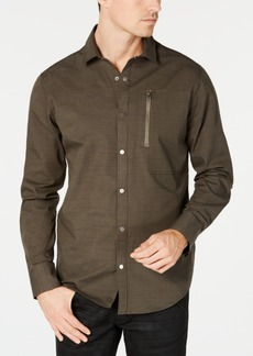 INC I.n.c. Men's Murdock Cross Hatch Shirt, Created for Macy's