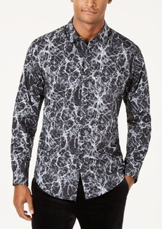 INC I.n.c. Men's Paint Splatter Shirt, Created for Macy's