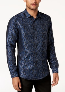 INC I.n.c. Men's Paisley Jacquard Shirt, Created for Macy's