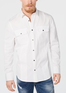 INC I.n.c. Men's Moto Shirt, Created for Macy's