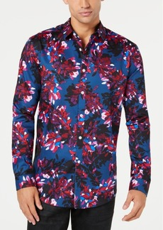 INC I.n.c. Men's Phoenix Floral-Print Shirt, Created for Macy's