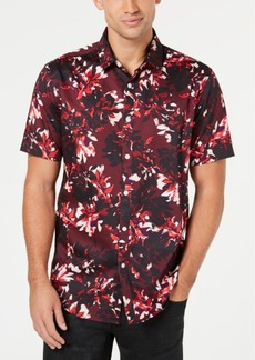 INC I.n.c. Men's Phoenix Floral Shirt, Created for Macy's