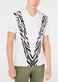 Inc Men's Pieced Zebra T-Shirt, Created for Macy's