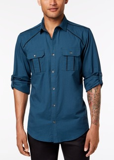 INC I.n.c. Men's Piped Shirt, Created for Macy's