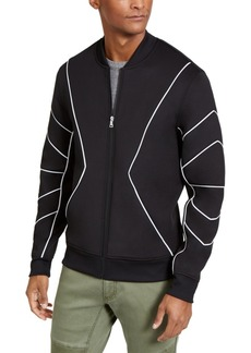 Inc Men's Piped Zip-Front Knit Jacket, Created for Macy's