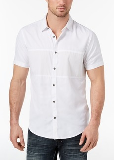 INC I.n.c. Men's Print Blocked Shirt, Created for Macy's