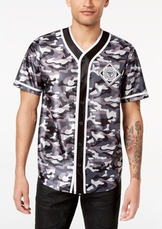 INC I.n.c. Men's Printed Baseball Jersey, Created for Macy's