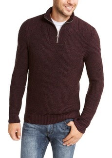 Inc Men's Quarter-Zip Sweater, Created For Macy's