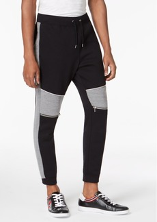 INC I.n.c. Men's Quilted Track Pants, Created for Macy's