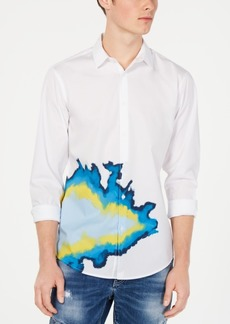 INC I.n.c. Men's Randle Abstract Shirt, Created for Macy's