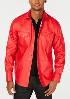 INC I.n.c. Men's Rayon Shirt Jacket, Created for Macy's